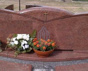 Paminklai kapams, kapų tvarkymas, granito plokštės / Tadas / Darbų pavyzdys ID 866249