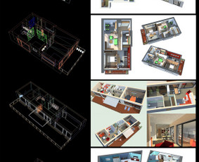 Autocad 3D ir 2D braižyba, 3D modeliavimas