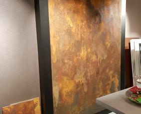 Sienu ir grindu dekoravimas  mikrocementu.