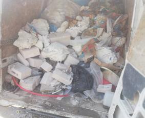 Statybinių atliekų, šiukšlių, senų baldų išvežimas