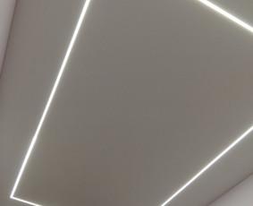 ECO medžiaginės lubos, įtempiamos lubos