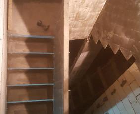 Visi betonavimo darbai / betoniniai laiptai