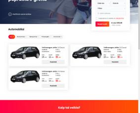 Internetinių svetainių, parduotuvių kūrimas