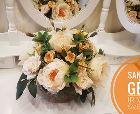 Sandrija - gėlės ir viskas šventėms