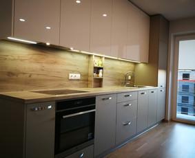 Spintos, virtuvės baldai