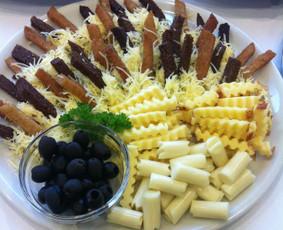 Vieno kąsnio užkandžiai, maistas šventėms