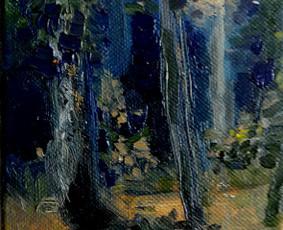Portretai, peizažai, abstrakcijos, aktai