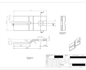 Brėžinių braižymas (SolidWorks programa)