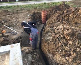 Vandentiekio ir kanalizacijos įrengimas
