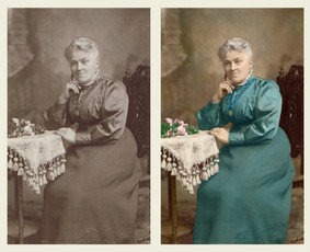 Profesionalus nuotraukų restauravimas