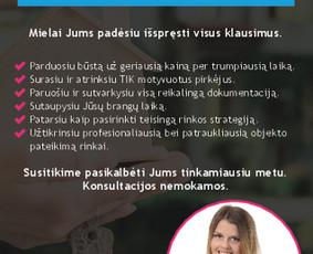 NT brokerė Justina Ramanauskienė