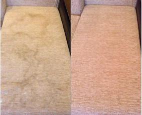 Giluminis, cheminis minkštųjų baldų valymas