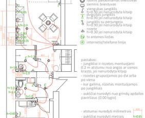 Elektrikas į namus. ESO dokumentacija. / Žilvinas Mačius / Darbų pavyzdys ID 922079