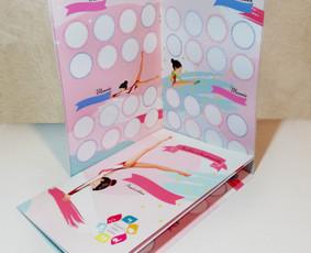 Gimnastikos motyvacinė knygelė