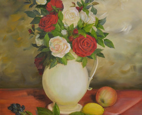 Sieninė tapyba, paveikslų tapymas, reljefai