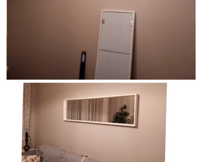 Nėra namų be veidrodžio. Jis mums reikalingas. Todėl reikia tinkamai ir saugiai pritvirtinti.