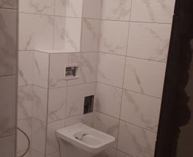 Plyteliu klijavimas -voniu,laiptu pagal uzsakymus / zilvis / Darbų pavyzdys ID 941391