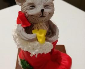 Šokoladiniai  Kalėdiniai suvenyrai.