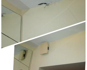 Durų skambučio montavimo darbai Jūsų namuose. Kartais sugenda tiek skambučio mygtukas, tiek pats skambutis viduje.