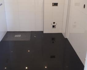 Plyteliu klijavimas -voniu,laiptu pagal uzsakymus / zilvis / Darbų pavyzdys ID 949987