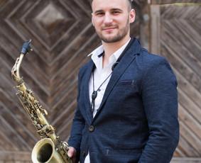 Profesionalus saksofonistas Rokas Barzdžius