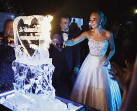 Ledo skulptūra ir įspūdingas LEDO ŠOU - LEDO MENAS