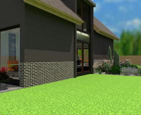 Aplinkos apželdinimo projektavimas / Rolanda / Darbų pavyzdys ID 958353