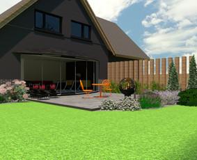 Aplinkos apželdinimo projektavimas / Rolanda / Darbų pavyzdys ID 958355