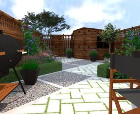Aplinkos apželdinimo projektavimas / Rolanda / Darbų pavyzdys ID 968347