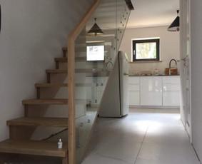Vidaus laiptai, palanginės, baldai, kt. stalių gaminiai
