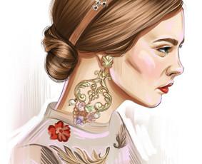 Dailininkė-iliustratorė / Jelena Taricina / Darbų pavyzdys ID 973875