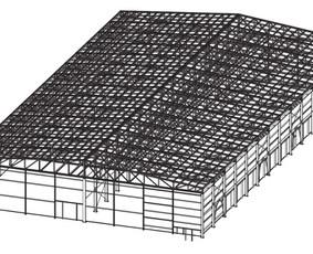 LMK Pastatai iš cinkuotų lengvųjų metalo konstrukcijų