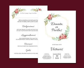DOBO|vestuvinių kvietimų kūrimas|