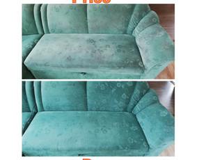 Minkštų baldų, kilimų cheminis giluminis valymas