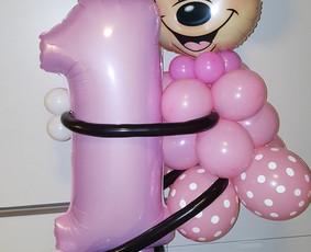 Dekoravimas balionais!