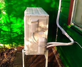 Šildymo, katilų, šilumos siurblių,oro kondicionierių įrengim