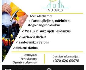 Statybų ir apdailos darbai / Davainienė Giedrė / Darbų pavyzdys ID 985251