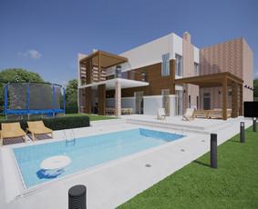 Architektūrinis projektavimas, 3d vizualizacijos Archicad / ADE / Darbų pavyzdys ID 990825