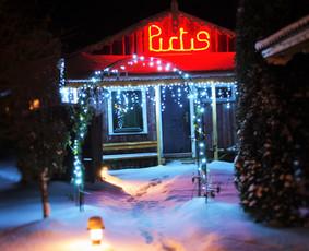 Pirtis, sniegas, kontrastinės procedūros....visa tai rasite vos 15 minučių kelio nuo Vilniaus centro.