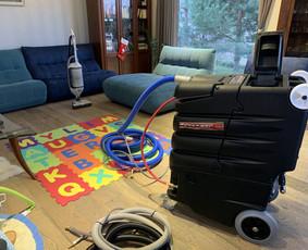 Profesionalus kilimų, baldų, langų valymas Vilnius