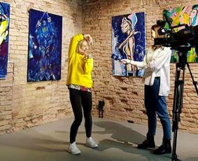 Moderni tapyba ant drobės - Paveikslai interjerui