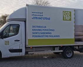 Perkraustymo paslaugos , krovinių ,  siuntų pervežimas / UAB Transona / Darbų pavyzdys ID 994755