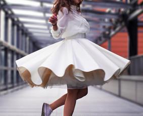 Išsvajotos vestuvinės suknelės kūrimas ir siuvimas / ReCut / Darbų pavyzdys ID 997261