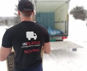 Krovinių pervežimas - perkraustymo paslaugos EUROPA
