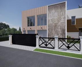 Architektūrinis projektavimas, 3d vizualizacijos Archicad / ADE / Darbų pavyzdys ID 998847