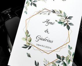 Rankų darbo vestuviniai kvietimai ir ne tik...