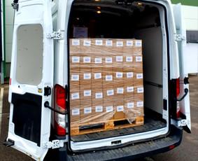 Kasdien krovinių pervežimas visoje Lietuvoje ir Europoje.