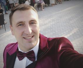 Renginio vedėjas, šventės draugas Edgaras Šapkus