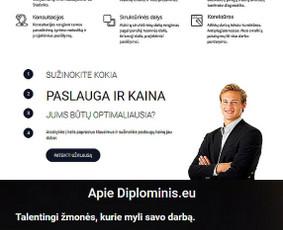 Diplominiai projektai studentams