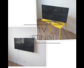 Televizoriaus tvirtinimas prie sienos: saugu, gražu, patogu.